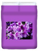 Flowers 2078 Embossed Duvet Cover