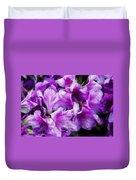 Flowers 2078 Lux Duvet Cover