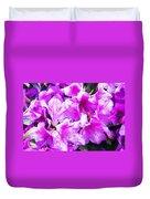 Flowers 2078 Oil Hp Duvet Cover