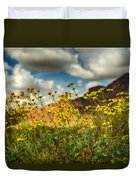 Flowers Are Food For The Soul  Duvet Cover