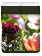 Flowers At Dallas Arboretum V13 Duvet Cover