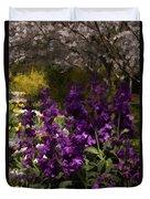 Flowers Dallas Arboretum V18 Duvet Cover