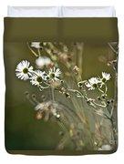 Flowers End Duvet Cover