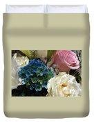 Flowers For Zoe Ellen Duvet Cover