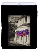Flowers In Cashel Duvet Cover