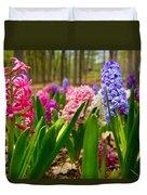 Flowers In Michigan  Duvet Cover