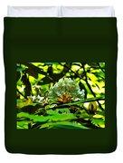 Flowers In The Woods Duvet Cover