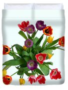 Flowers  Just  For  You Duvet Cover