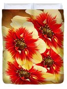 Flowers Of Flowers Duvet Cover