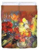 Flowers Of Joy Duvet Cover