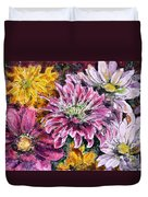 Flowers Of Love Duvet Cover