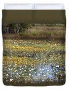 Flowers Of The Billabong Duvet Cover