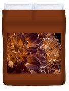 Flowers Should Also Turn Brown In Autumn Duvet Cover