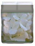 Snowball Flowers Duvet Cover