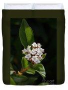 Flowers-tiny White Duvet Cover