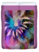 Flowery Illusion Duvet Cover