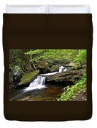 Flowing Falls Duvet Cover