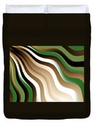 Flowing Graphic Duvet Cover