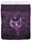 Flowing Heart Duvet Cover