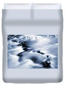Flowing Stream Duvet Cover by Les Cunliffe