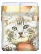 Fluffy Kitten Duvet Cover