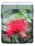 Fluffy Pink Flower Duvet Cover