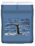 Flukes Of A Sperm Whale 2 Duvet Cover