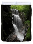 Flume Gorge Waterfall Nh Duvet Cover