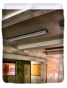 Fluorescent Underground Palm Springs Duvet Cover