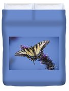 Fluted Swallowtail Duvet Cover
