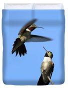 Fluttering Duvet Cover by Shane Bechler
