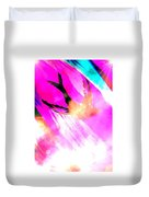 Fly Away Home Abstract Duvet Cover
