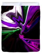 Purple Rain Homage To Prince Original Abstract Art Painting Duvet Cover