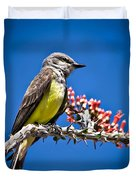 Flycatcher Duvet Cover