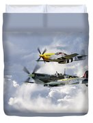 Flying Brothers Duvet Cover