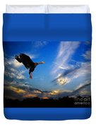 Flying Duck Duvet Cover