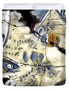 Flying Fish No. 3 - Study No. 2 Duvet Cover