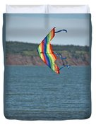 Flying Kite Duvet Cover