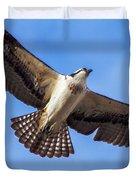 Flying Osprey Duvet Cover