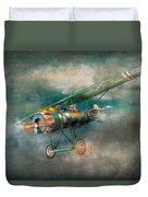 Flying Pig - Acts Of A Pig Duvet Cover