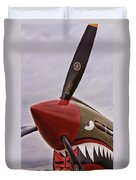 Flying Tiger P-40 Duvet Cover