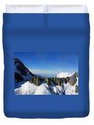 Flying To Fox Glacier #2 Duvet Cover