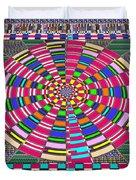 Focus Target Yoga Mat Chakra Meditation Round Circles Roulette Game Casino Flying Carpet Energy Mand Duvet Cover