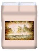 Fog Abstract 5 Duvet Cover
