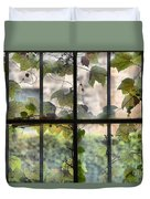 Fog Ivy And Plate Glass Duvet Cover