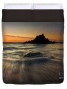 Fogarty Creek Sunset Duvet Cover