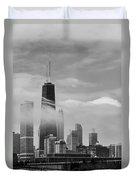 Foggy City Duvet Cover
