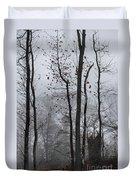 Foggy Forest Duvet Cover
