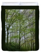 Foggy Woods Duvet Cover