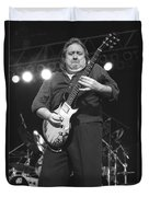 Foghat Guitarist Rod Price Duvet Cover
